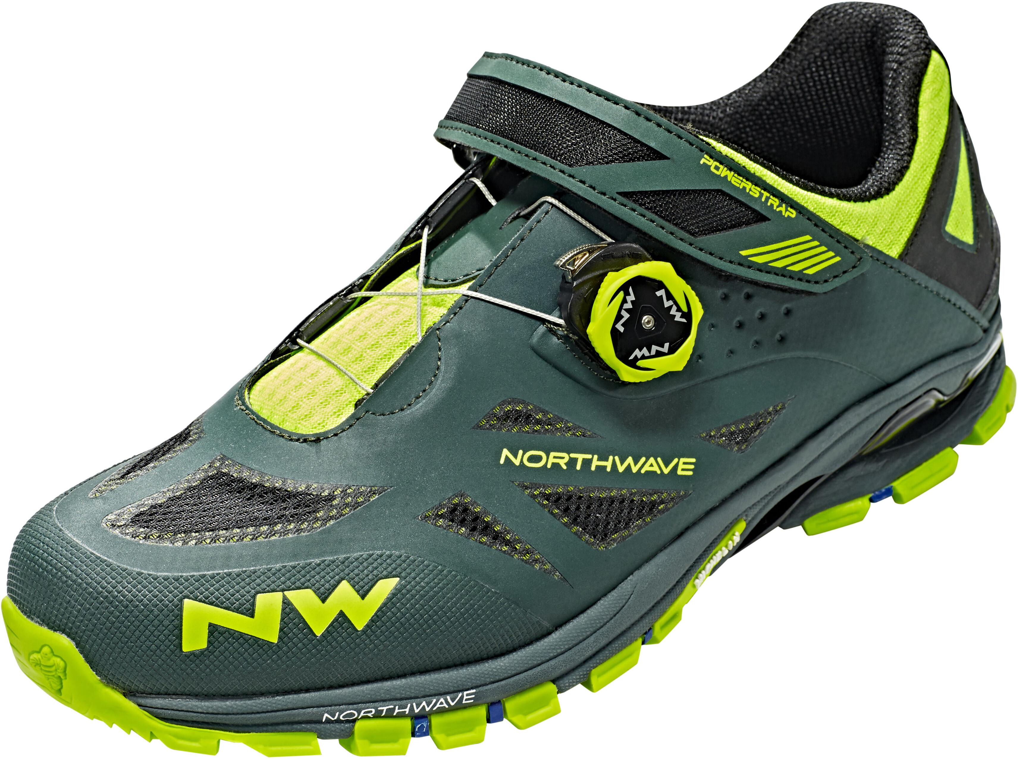 942a6b2fb77 Northwave Spider Plus 2 - Chaussures Homme - jaune vert - Boutique ...